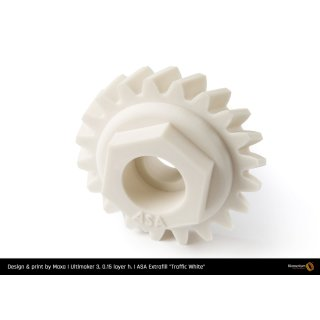 Fillamentum ASA Extrafill Traffic White - RAL 9016 - 1.75mm - 750g Filament