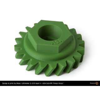 Fillamentum ASA Extrafill Green Grass - RAL 6010 - 1.75mm - 750g Filament