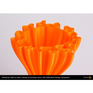 Fillamentum CPE HG100 Neon Orange Transparent - 1.75mm - 750g Filament