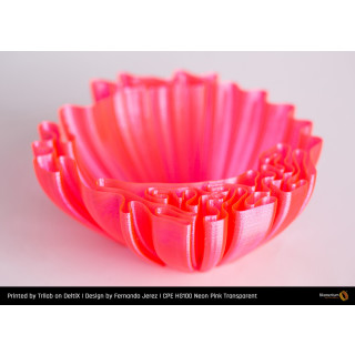 Fillamentum CPE HG100 Neon Pink Transparent - 1.75mm - 750g Filament
