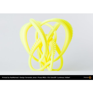 Fillamentum PLA Extrafill Luminous Yellow - 1.75mm - RAL 1026 - 750g Filament