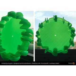 Fillamentum PLA Extrafill Luminous Green - 1.75mm - RAL 6038 - 750g Filament