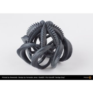 Fillamentum PLA Extrafill Vertigo Grey - 1.75mm - 750g Filament