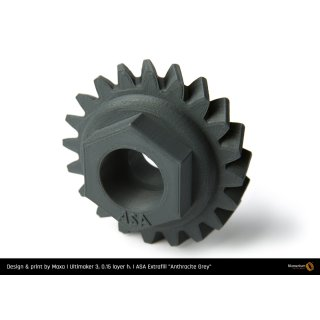 Fillamentum ASA Extrafill Anthracite Grey - 1.75mm - 750g Filament