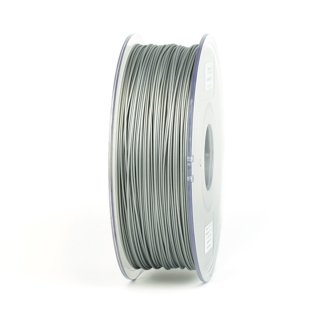 Gallo PETG Filament Silber - 1.75mm - RAL 9007 - 1kg - Made in Germany - Premium
