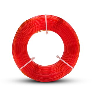 Fiberlogy EASY PETG Filament Orange Transparent - 1.75mm - 850g - Refill